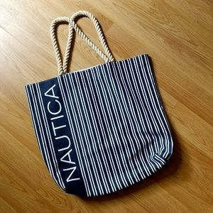 Vintage Nautica Tote Bag